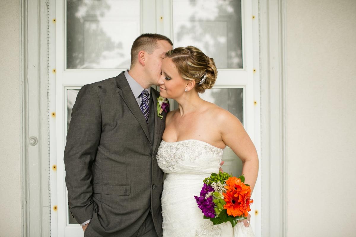 Danielle + Mike | Purple + Orange Talbot Hall Norfolk Wedding | Amanda ...